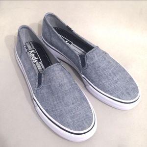 New! Keds Double Decker slip on sneakers